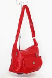 Дамска чанта в червено за през рамо 9152524