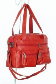Дамска чанта червен цвят 9152542