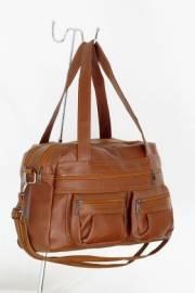 Дамска чанта кафяв цвят 9152574