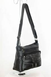 Дамска чанта черен цвят 9152603