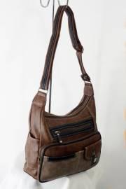 Дамска чанта в кафяв цвят 9152782