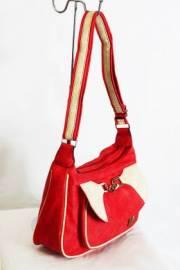 Дамска чанта в цвят диня 9152803