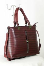 Дамска чанта в бордо 9153137