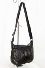 Дамска чанта в черно естествена кожа 9152907