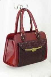 Дамска чанта в бордо 9153164