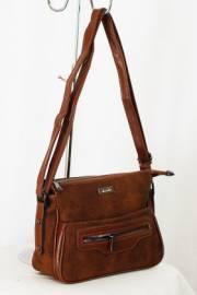 Дамска чанта в кафяво 9150184