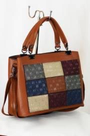 Дамска чанта в кафяво 9153193