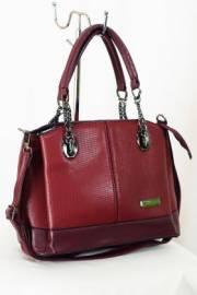 Дамска чанта в бордо 9153201