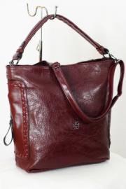 Дамска чанта в бордо 9153203