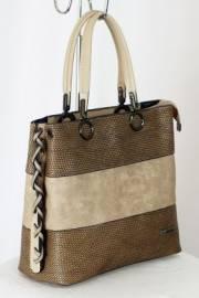 Дамска чанта в бежово 9153247