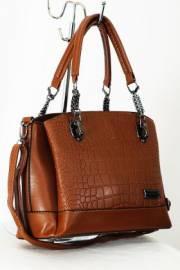 Дамска чанта в кафяво 9153257