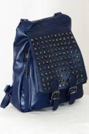 Дамска раница-чанта в синьо 9153273
