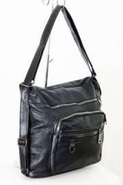 Дамска чанта-раница в черно 9153294