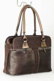 Дамска чанта в кафяво 9153307