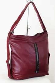 Дамска чанта-раница в бордо 9153308