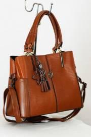 Дамска чанта в кафяво 9153326