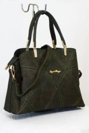 Дамска чанта в зелено 9153348