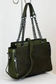 Дамска чанта в зелено 9153354
