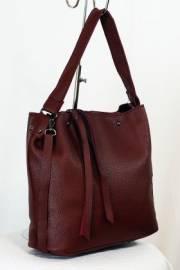 Дамска чанта в бордо 9153358