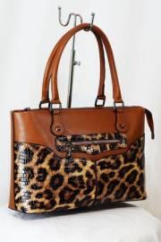 Дамска чанта в кафяво 9153362