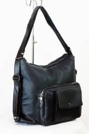 Дамска чанта-раница в черно 9153364