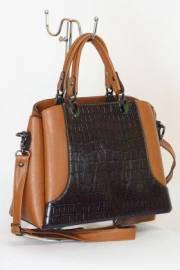 Дамска чанта в кафяво 9153395