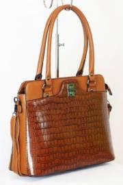 Дамска чанта в кафяво 9153416