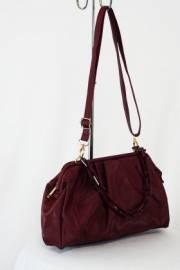 Дамска чанта цвят бордо 9153468