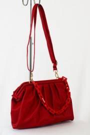 Дамска чанта червен цвят  9153469