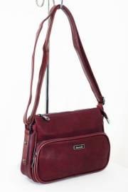 Дамска чанта цвят бордо 9153515
