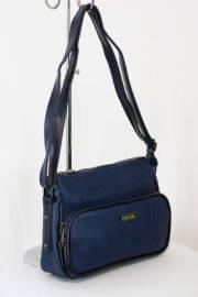 Дамска чанта тъмно син цвят  9153518