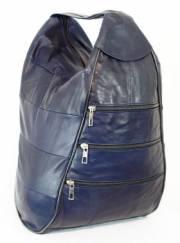 Дамска раница в син цвят  9153539