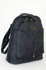 Дамска чанта-раница в черен цвят 9153558