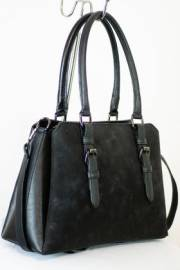 Дамска чанта черен цвят  9153559