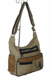 Дамска чанта в бежов цвят 9153569