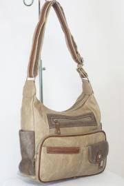 Дамска чанта в бежов цвят 9153571