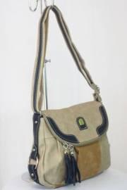 Дамска чанта бежов цвят  9153573