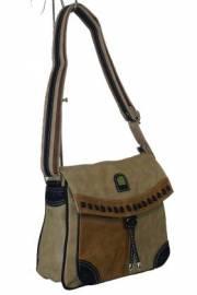 Дамска чанта бежов цвят  9153579