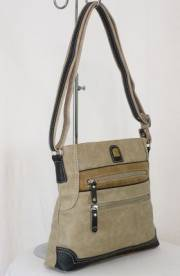 Дамска чанта бежов цвят  9153584