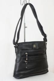 Дамска чанта черен цвят  9153586