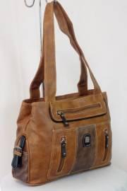 Дамска чанта кафяв цвят  9153590