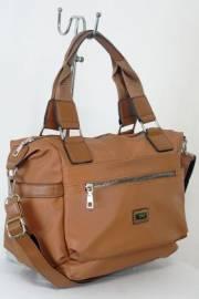 Дамска чанта кафяв цвят  9153597