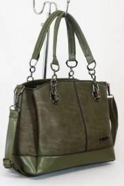 Дамска чанта зелен цвят  9153601