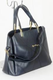 Дамска чанта тъмно син цвят  9153604