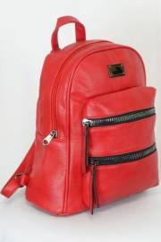 Дамска раница в червен цвят 9153622