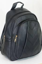 Дамска раница в черен цвят 9153625
