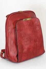 Дамска раница в червен цвят 9153629