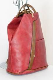 Дамска раница в червен цвят 9153635