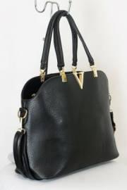 Дамска чанта черен цвят  9153648