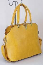 Дамска чанта цвят горчица  9153650